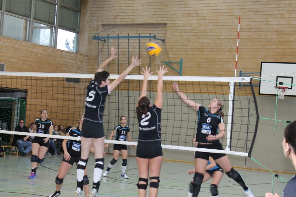 Die erwartete Niederlage kassierten die TSV-Volleyballerinnen in Heimstetten